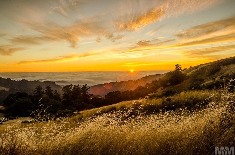 California Sunset-Skyline clouds sky
